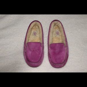 UGG Ansley Suede Moccasin Slippers